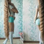 Рускиня не е подстригвала косата си 13 години. Защо?