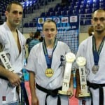 2 Европейски титли и едно второ място от втория ден на Европейското по карате Шинкиокушин
