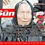 The Sun: Брекзит е предизвестен, Баба Ванга го е предрекла