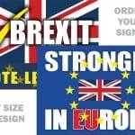 Великобритания реши да остане в ЕС – 4% надделяха в референдума (първи резултати)
