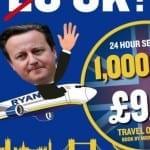 Заради Brexit Rуаnаіr пycнa 1 млн. билeтa по 9,99 евро