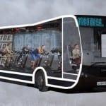 Пускат фитнес автобуси в Лондон (СНИМКИ)