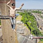 В сърцето на Лондон има защитен природен резерват и замък за катерене