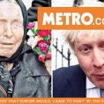 Metro: Невиждаща ясновидка, която предвиди 9/11, цунамито на Боксинг дай и Ислямска държава, също 'е успяла да види Брекзит'