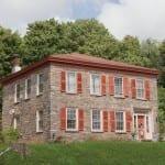 12 двестагодишни къщи от камък