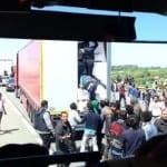 """Границата ни се пази зорко: Камион с 21 нелегални катастрофира на АМ """"Тракия"""""""