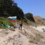 Доброволецът – спасител, който се грижи за туристите в Синеморец