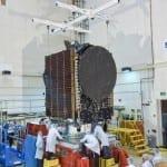 Булсатком на крачка от изстрелването на първия български геостационарен комуникационен сателит