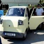 БГ електромобил с 2 багажника показаха на панаира в Пловдив