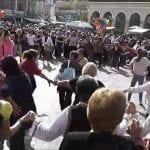 Кръшни български хора се виха под Акропола (видео)