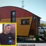 Нова световна сензация от България! Семейство живее в двуетажна дървена къща на колела! Като видиш вътре…