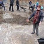 Прекрасни мозайки и стенописи излязоха изпод земята в центъра на Пловдив