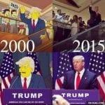 """""""Семейство Симпсън"""" предупреди Америка за Тръмп преди 16 години"""