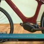 Българи изобретиха дървен електрически велосипед с вградена батерия и GPS