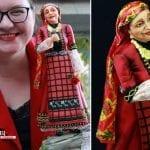 Валя Балканска от захар донесе злато на българка (СНИМКИ)