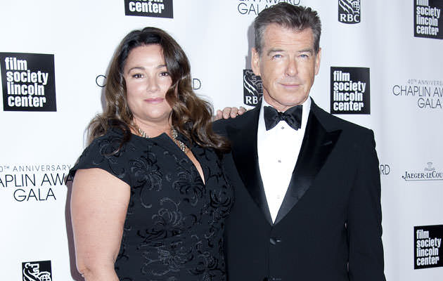 04/22/2013 - Pierce Brosnan and wife Keely Shaye Smith - 40th Anniversary Chaplin Award Gala - Arrivals - Avery Fisher Hall at Lincoln Center for the Performing Arts - New York City, NY, USA - Keywords: Orientation: Portrait Face Count: 1 - False - Photo Credit: Janet Mayer / PRPhotos.com - Contact (1-866-551-7827) - Portrait Face Count: 1