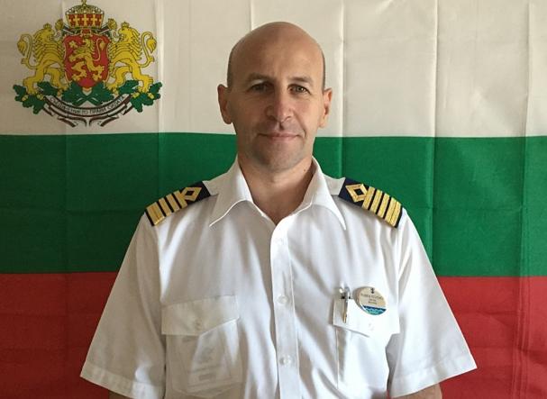 Българин е капитан на най-големия пътнически кораб в света