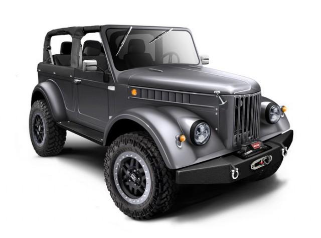 Руска компания предлага модерни версии на ГАЗ-69