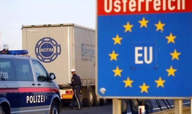 Австрия излиза от Шенген, връща граничния контрол от днес