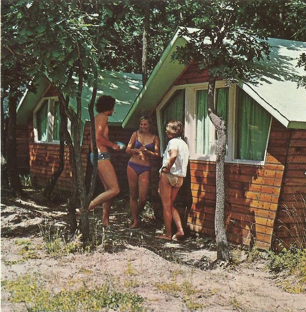 Приморско в 8 снимки от 70-те