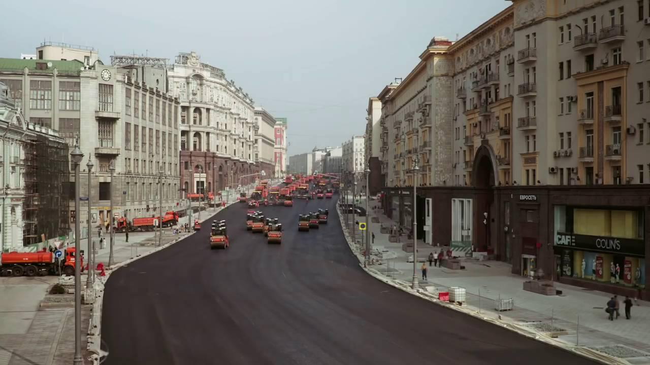 Вижте как строят пътища в Русия! Светлинни години са пред нас! (ВИДЕО)