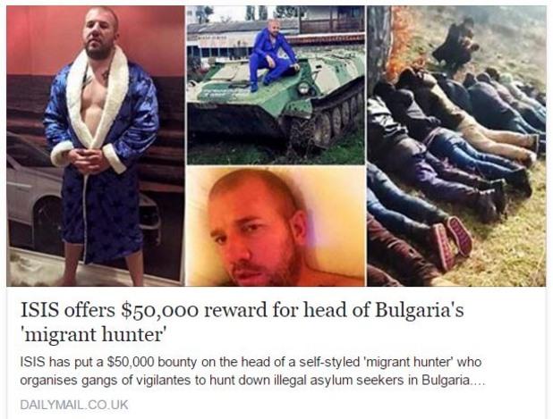 """""""ИДИЛ"""" дава 50 000 $ за главата на Динко от Ямбол! Защо? Вижте!"""