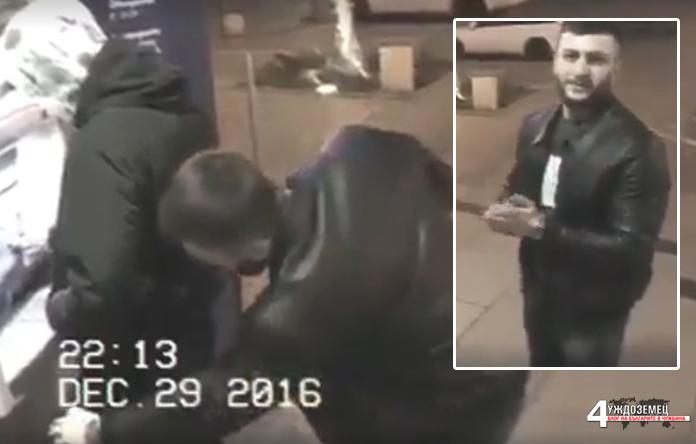 Крадец се моли да не бъде арестуван след като е заснет от CCTV в точният момент (ВИДЕО)
