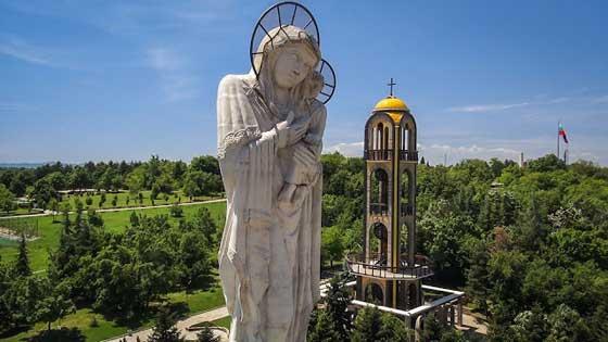 В България е най-високата статуя на Богородица