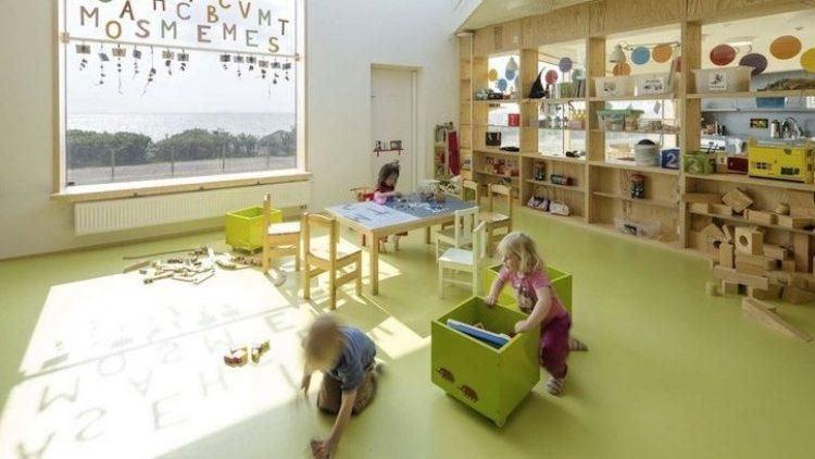 На детска градина в Швеция