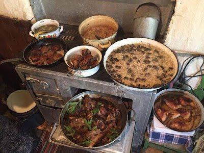 На село в 3 снимки от времето когато нямаше бърза и готова храна