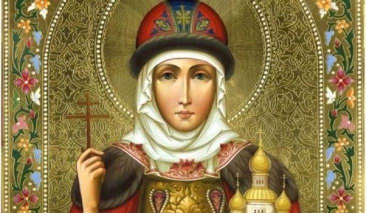 Три красиви имена черпят днес, почитаме благоверна киевска княгиня