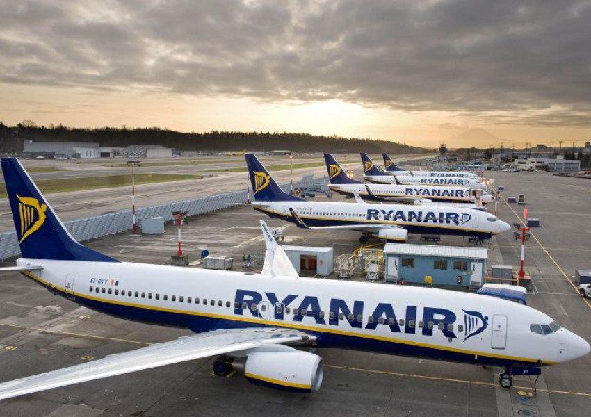 Ryanair пусна билети по 4,99 евро