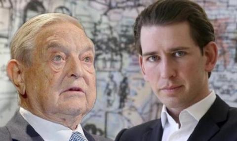 """Австрийският канцлер даде на Джордж Сорос 28 дни да закрие фонд """"Отворено общество"""" в Австрия"""
