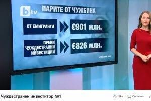 Българите в чужбина чуждестранен инвеститор №1 в България (ВИДЕО)