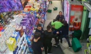 Непоказвано видео от боя в Габрово, вижте наистина какво е станало